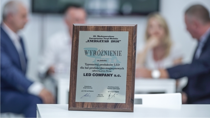 Energetab 2016 - the award goes to Led Company!